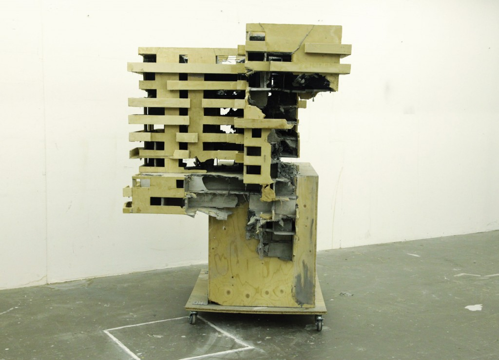 Alexandra Ranner, o. T. (Haus II), 2015, VG Bild-Kunst, Bonn 2016
