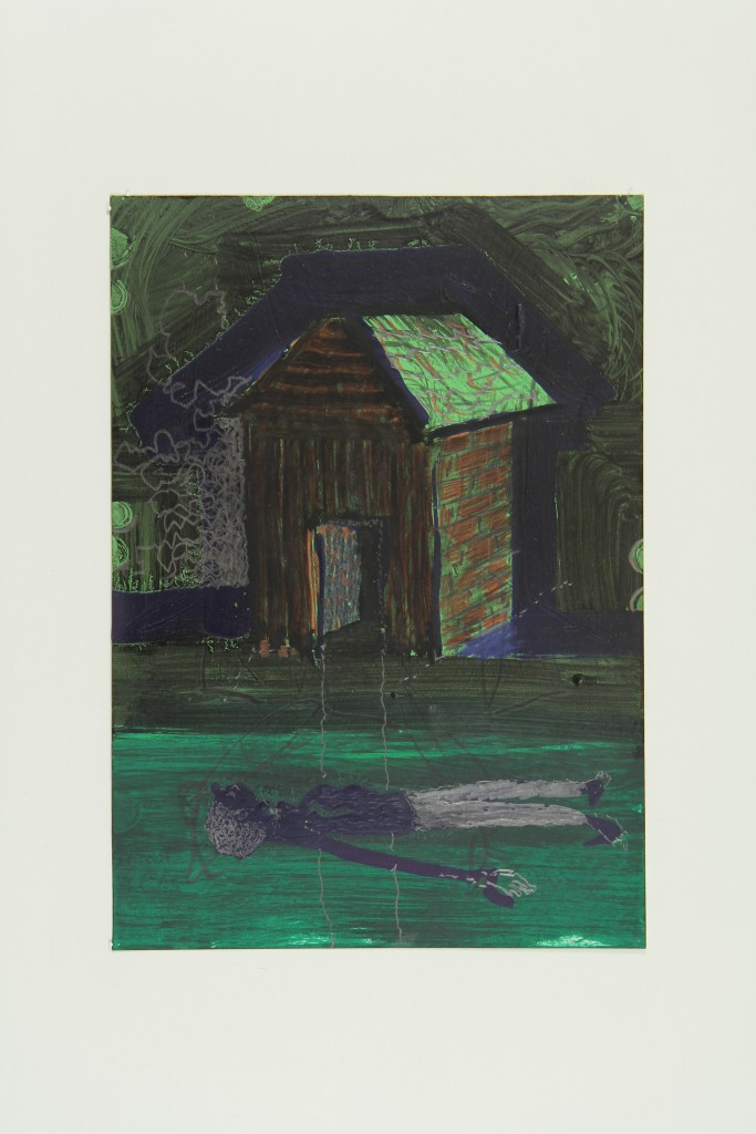 Olaf Kühnemann, Man and house, 2016, courtesy by artist
