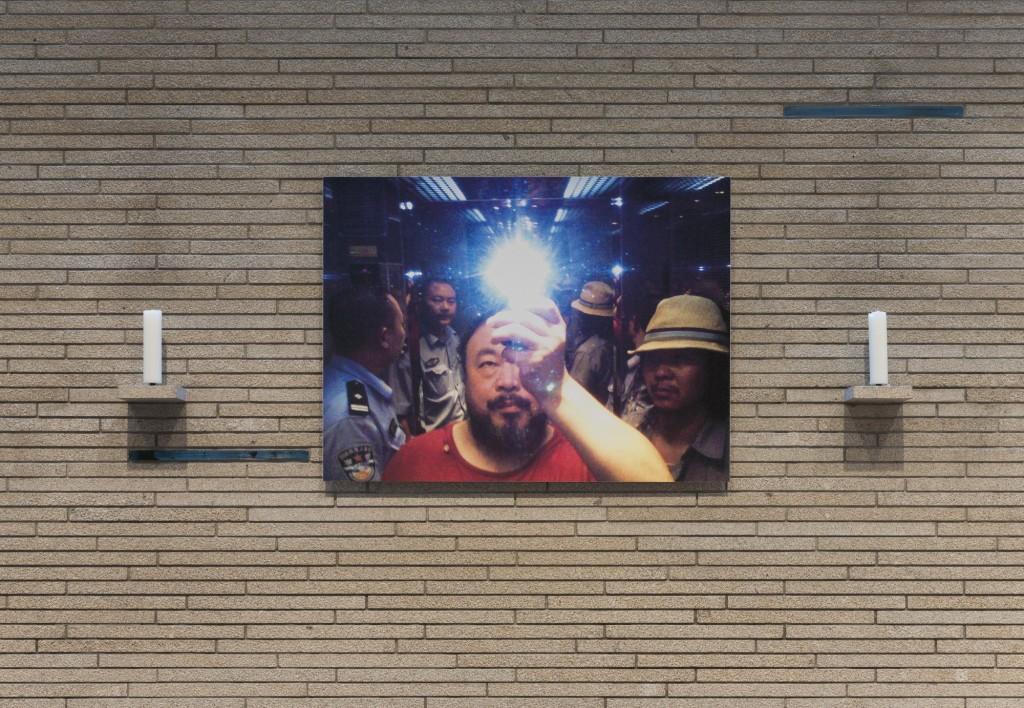 Ausstellungsansicht 'Prozession, Performance und Licht' St. Thomas von Aquin: Ai Wieweit, Illumination, 2014, Courtesy Ai Weiwei, Foto © Marcus Schneider