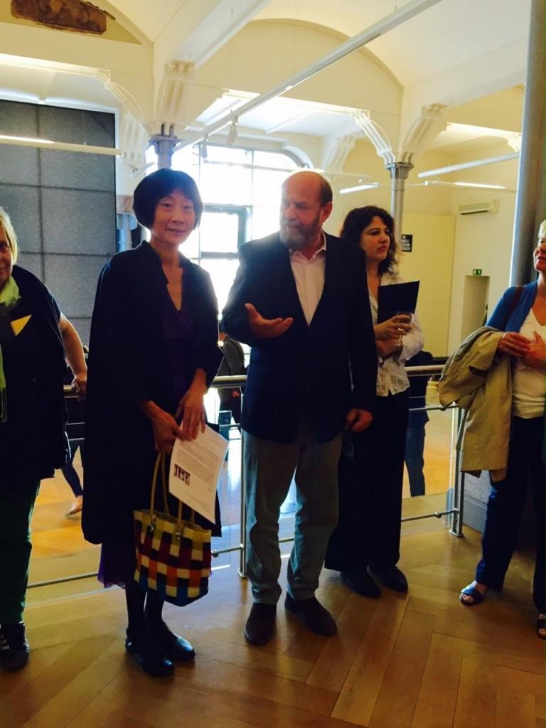 Juno Wada, Alexander Ochs, Eröffnung der Ausstellung, 7. Juli 2016